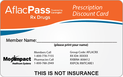 No cost prescription program aflac pass generic free rx card reheart Image collections